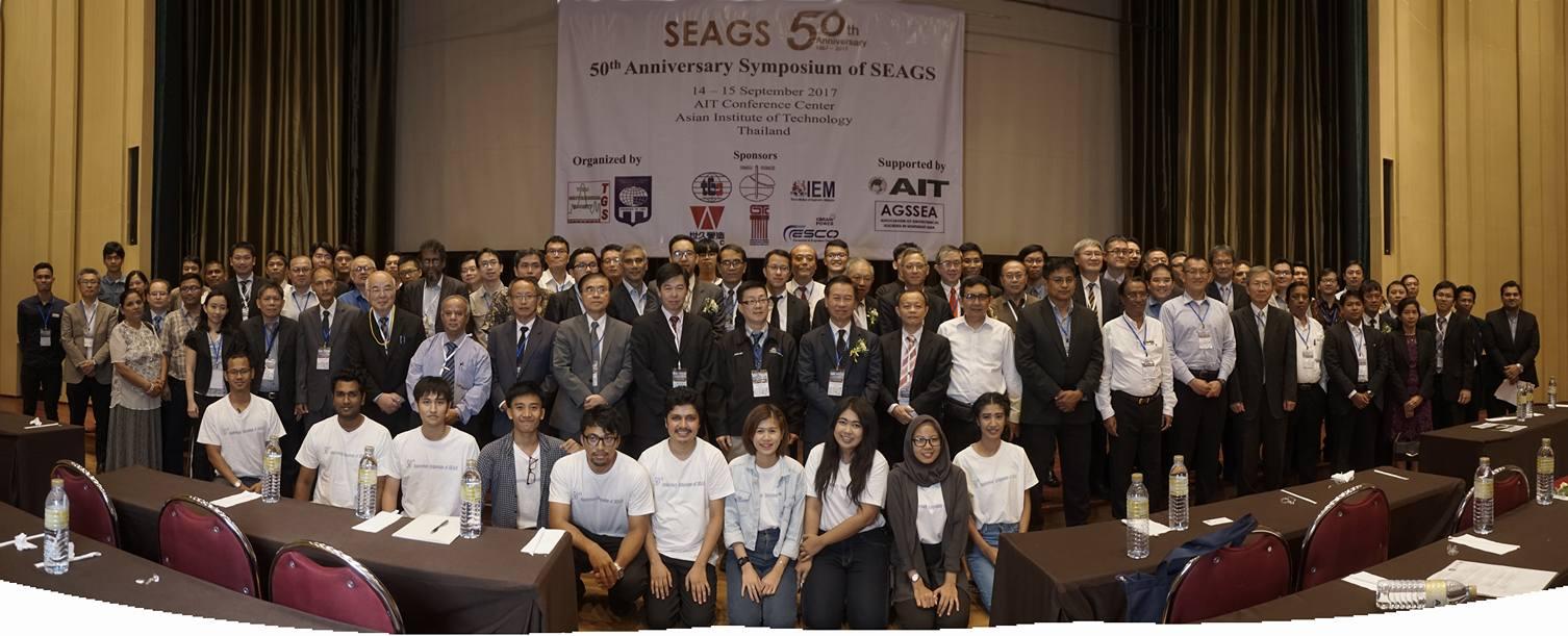 Group Photo in SEAGS Anniversary Bangkok
