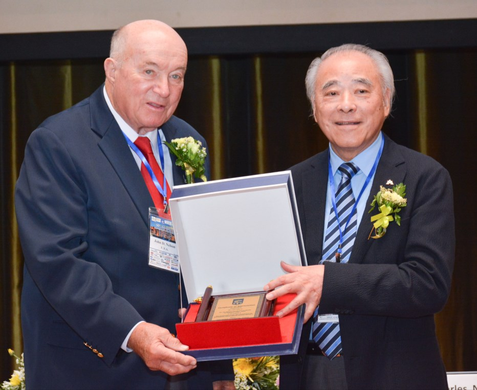 SEAGS Recognition Awards Prof. John D. Nelson