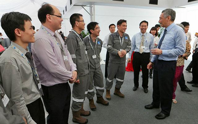 Singapore Premier Visit Jurong Man Made Rock Cavern