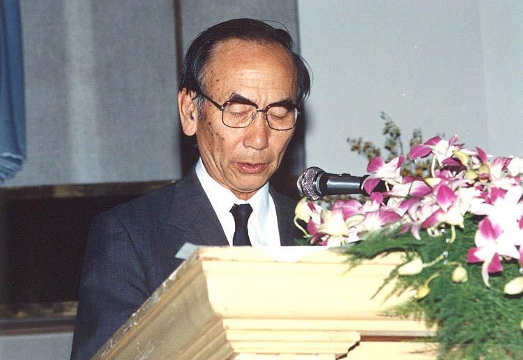 Late Prof. Fukuoka_ 9ARC in Bangkok 1991