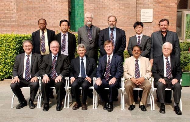 Standing and from left to right are Samuel Ejezie (Vice President for Africa), Ikuo Towhata (Appointed board member and Editor in Chief of the ISSMGE Bulletin), Ivan Vanicek (Vice President […]