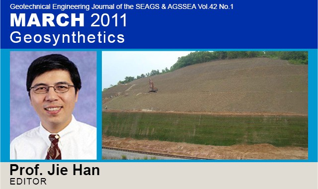 Prof. Jie Han, the Guest Editor is a Professor at Department of Civil, Environmental, and Architectural Engineering at the University of Kansas in the United States. He received his Ph.D. […]
