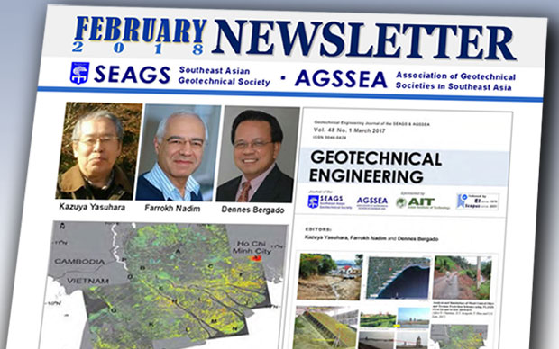SEAGS-AGSSEA Newsletter – February 2018