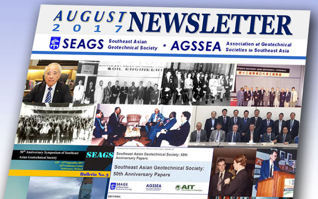 SEAGS-AGSSEA Newsletter – August 2017